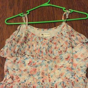 Cute pastel floral dress